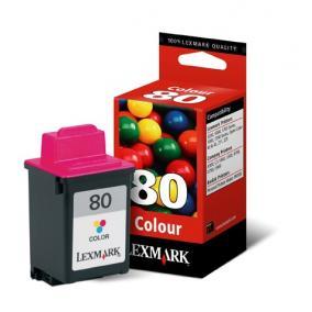Lexmark 12A1980 [Col] #No.80 tintapatron (eredeti, új)
