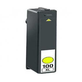 Lexmark 14N1071 [Y XL] #No.100 tintapatron (ForUse)