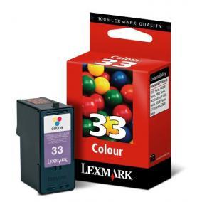 Lexmark 18C0033 [Col] #No.33 tintapatron (eredeti, új)