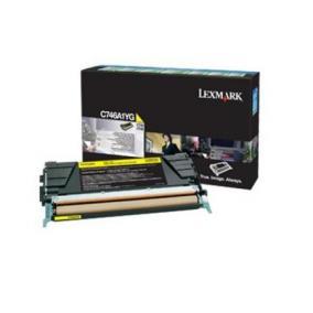 Lexmark [C746,748] C746A1YG [Y] 7K toner (eredeti, új)