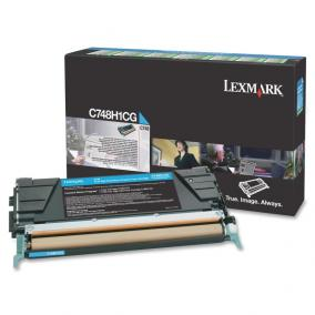 Lexmark [C748] C748H1CG [C] 10K toner (eredeti, új)
