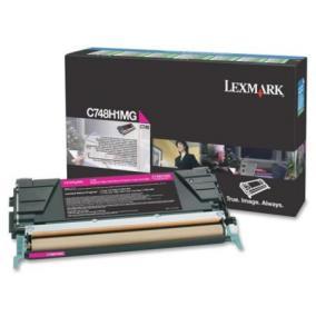 Lexmark [C748]C748H1MG [M] 10K toner (eredeti, új)