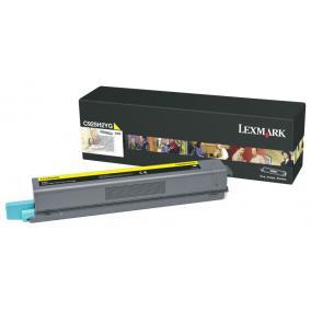Lexmark [C925] C925H2YG [Y] 7,5K toner (eredeti, új)