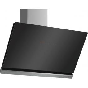 Bosch DWK98PR60 Kürtős páraelszívó, 90 cm, fekete Döntött üvegernyős, 3-fokozatú + 2 inte