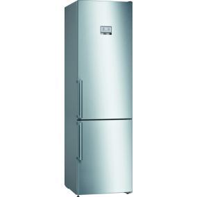 Bosch KGN39HIEP, Szabadonálló, alulfagyasztós hűtő-fagyasztó kombináció, 290+110L