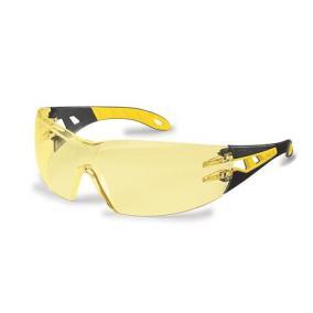 Védőszeműveg, sárga lencse, UVEX,