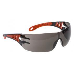 Védőszemüveg, füstszínű lencse,