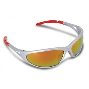 Védőszemüveg, tükrös, fényvédő lencsével,