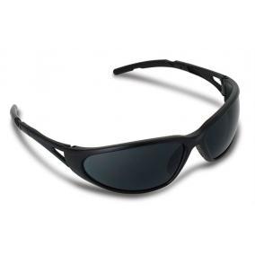 Védőszemüveg, sötéttített, fényvédő lencsével,