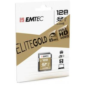 Memóriakártya, SDXC, 128GB, UHS-I/U1, 85/20 MB/s, EMTEC