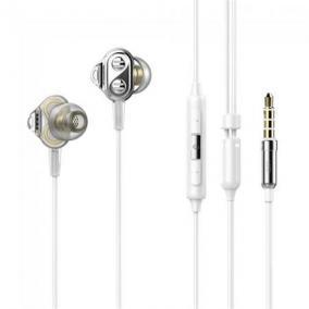 Fülhallgató, mikrofonos, hibrid meghajtó, UIISII