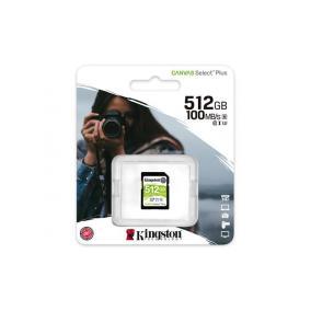 Memóriakártya, SDXC, 512GB, CL10/U1, KINGSTON,