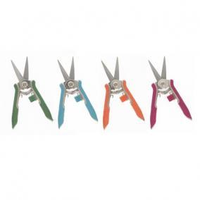 Metszőólló hegyes színes fém 15cm színes 4 féle [1 db]