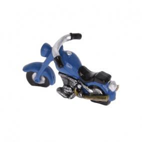 Motor poly 7,4cm kék,fekete