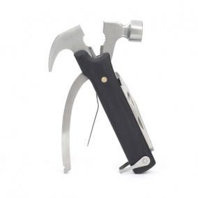 Multifunkciós kalapács szerszámkészlettel, fekete