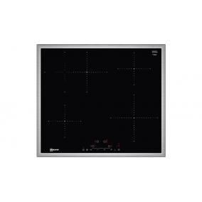 NEFF T36BD60N1 Indukciós főzőlap, 60 cm, Nemesacél keret, ovális sütőzóna, PotBoost 4,6kW