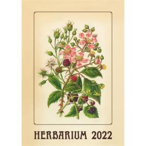 Naptár, fali, DAYLINER, Herbárium