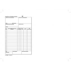 Nyomtatvány, szállítólevél, 50x3, A5, VICTORIA
