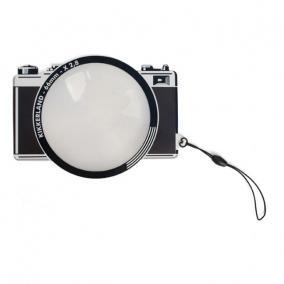 Nagyítóüveg, Fresnel, ultra vékony, fényképezőgép formájú