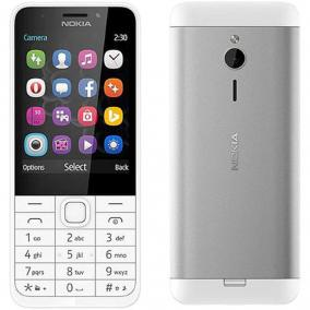 Nokia 230 DS, Silver