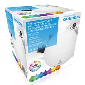 Párásító aromadiffúzer 3led-es színváltós - Grundig, 871125206681