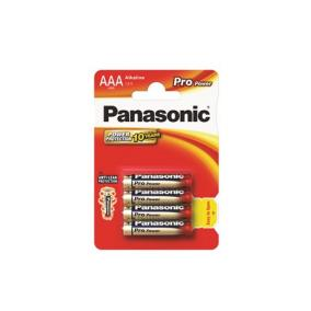 Elem, AAA mikro, 4 db, PANASONIC