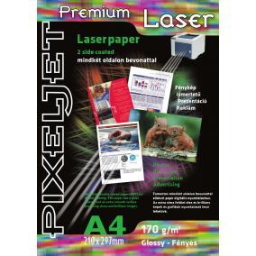 Pixeljet Laser 2 oldalas fényes [A4 / 170g] 20db fotópapír