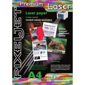 Pixeljet Laser 2 oldalas szatin [A4 / 170g] 20db fotópapír