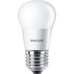LED izzó, E27, kis gömb, P45, 4W, 250lm, 2700K, PHILIPS