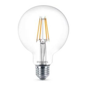 LED izzó, E27, gömb, 8W, 806lm, 2700K, G93, PHILIPS