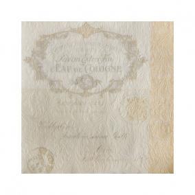 Papír Szalvéta 3 rétegű - Fiorentina krém 33x33cm krém [20 db]
