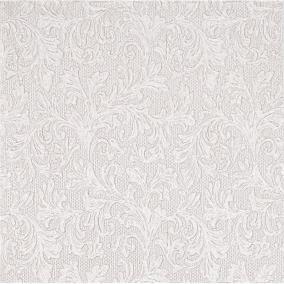 Papír Szalvéta 3 rétegű - Fiorentina uni ezüst 33x33cm fényes szürke [16 db]