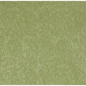 Papír Szalvéta 3 rétegű - Fiorentina uni - olíva 33x33cm fényes olíva [20 db]