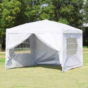 Party sátor fehér színben 3x3 méter