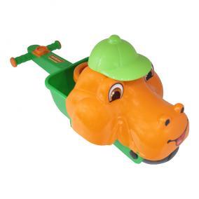 Állatfejes játék talicska Dino