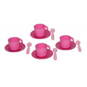 Játék teázó készlet, 4 személyes