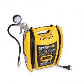 PowerPlus sárga kompresszor 1100W, olajmentes  POWX1705