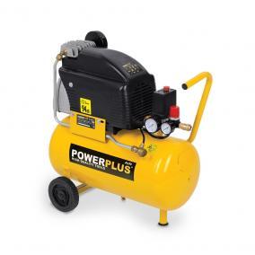 PowerPlus sárga kompresszor 1500W, 24L, POWX1735