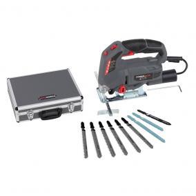 PowerPlus szürke elektromos dekopírfűrész szett kofferben 710W POWESET3