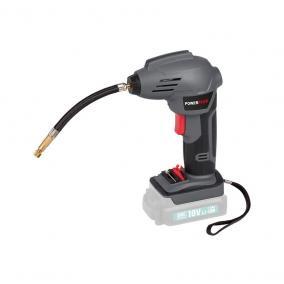 PowerPlus szürke kézi kompresszor akkus alapgép 18V POWEB5010