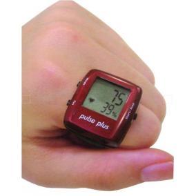 Pulse Plus - pulzusmérő gyűrű piros