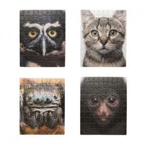 Puzzle, állatportrék, [4 db]