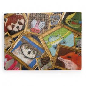 Puzzle, művészképek állatokról