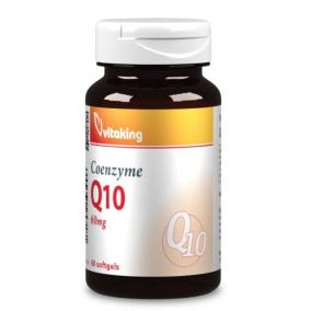 Vitaking Coenzyme Q10 60 mg gélkapszula [60 db]