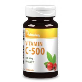 Vitaking Vitamin C-500mg csipkebogyó tabletta [100 db]