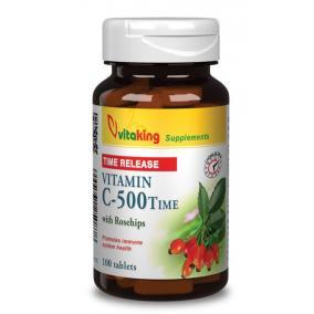 Vitaking Vitamin C-500 mg tabletta TR [100 db]