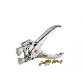 Lyukasztó, lyukmegerősítő gyűrűhöz, REXEL