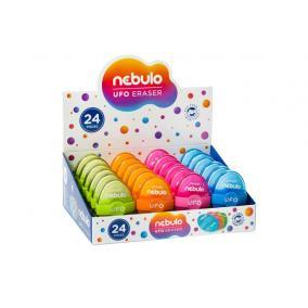 Radír, műanyag tokos, NEBULO
