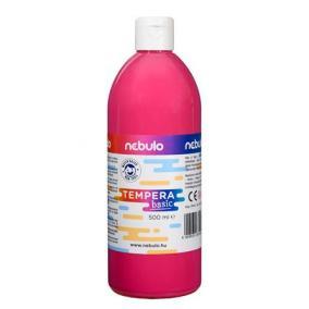 Tempera, 500 ml, NEBULO, rózsaszín