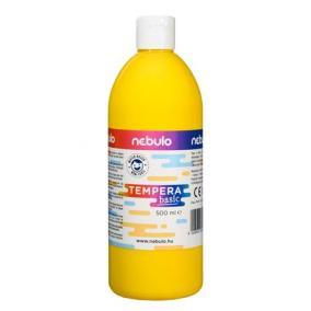 Tempera, 500 ml, NEBULO, sárga